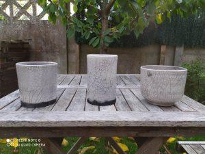 les trois pots